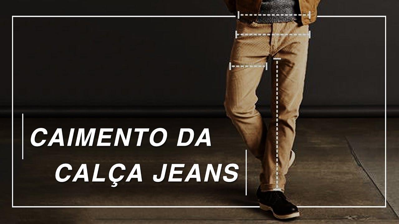 cb183510a8 Caimento da Calça Jeans - YouTube