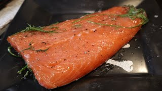 How To Make Gravlax - (Cured Salmon)