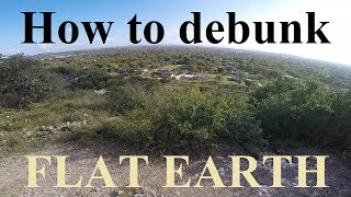 How to easily debunk Flat Earth parody by YT channel Indiejestion ✅