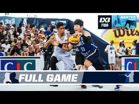 South Korea and Indonesia fight to the last second! - Full Game - FIBA 3x3 World Cup 2017