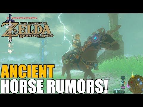 Ancient Horse Rumors Walkthrough (Ancient Horse Armor Botw)