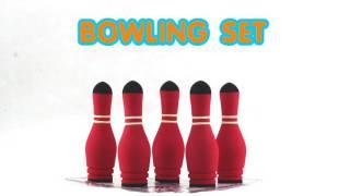 Safsof - Bowling Set