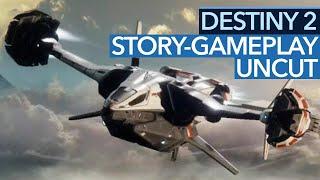 Destiny 2 uncut - story-mission heimkehr endlich ungeschnitten - beta-gameplay