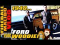 1940 FORD WOODIE Rocket Test Drive - FMV212