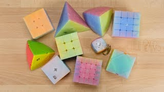 QiYi Jelly Cube Collection Unboxing!