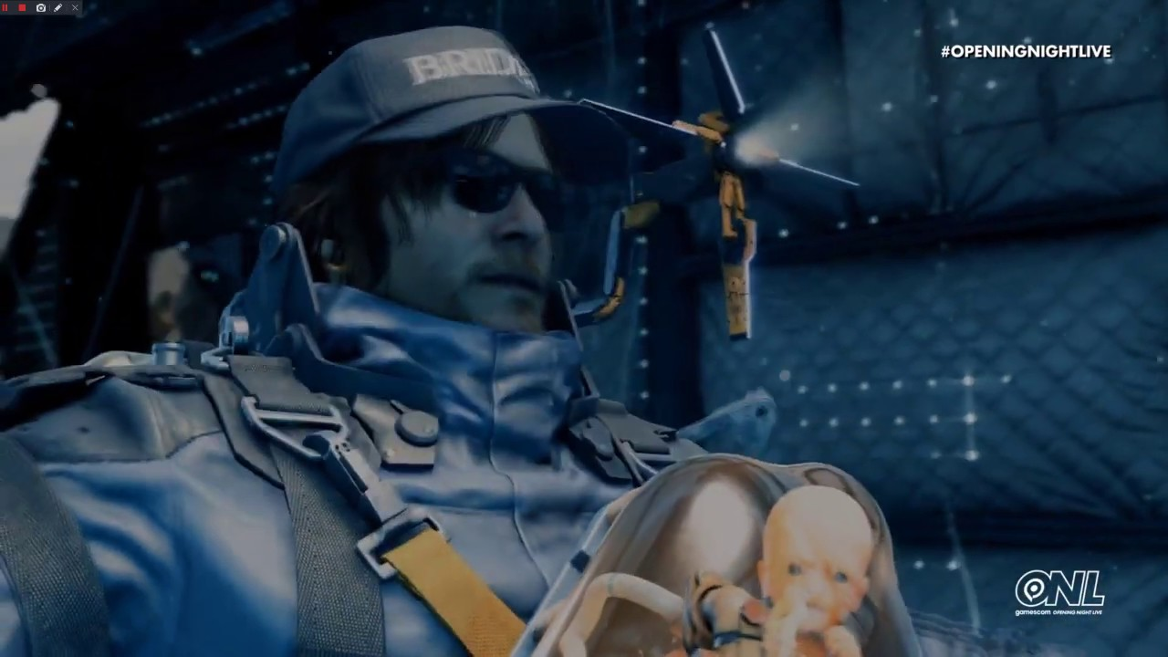 Death Stranding Gameplay - Gamescom 2019 (Geoff Keighley Cameo)