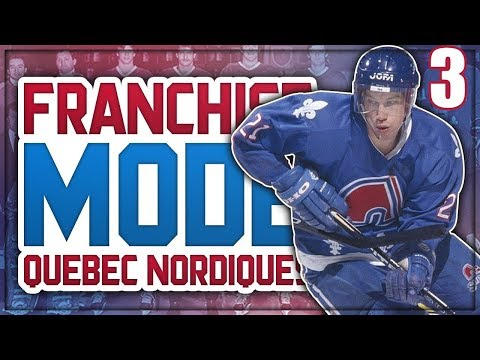"NHL 18 Franchise Mode - Quebec Nordiques #3 ""Trade Debate - Extensions"""