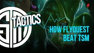 How FlyQuest beat TSM using a calculated Zac pick & strong map movements