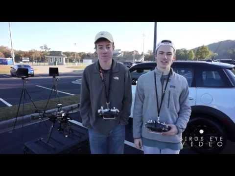 BEHIND THE SCENES Aerial Car shot Birds Eye Video LLC (2013)