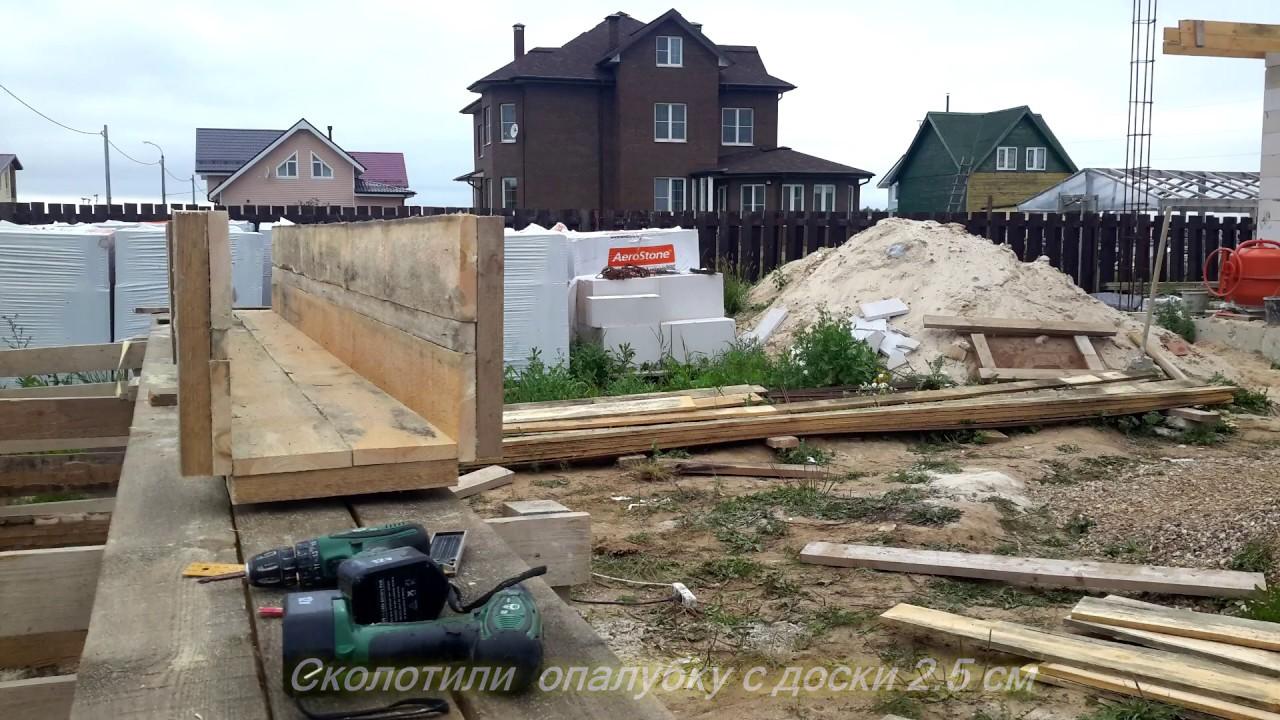 Как сделать колонну из бетона своими руками