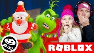 KRADEME VÁNOCE S GRINCHEM🌲 (UPDATE) The Grinch Obby! | Roblox | Tatínek a Barunka CZ/SK