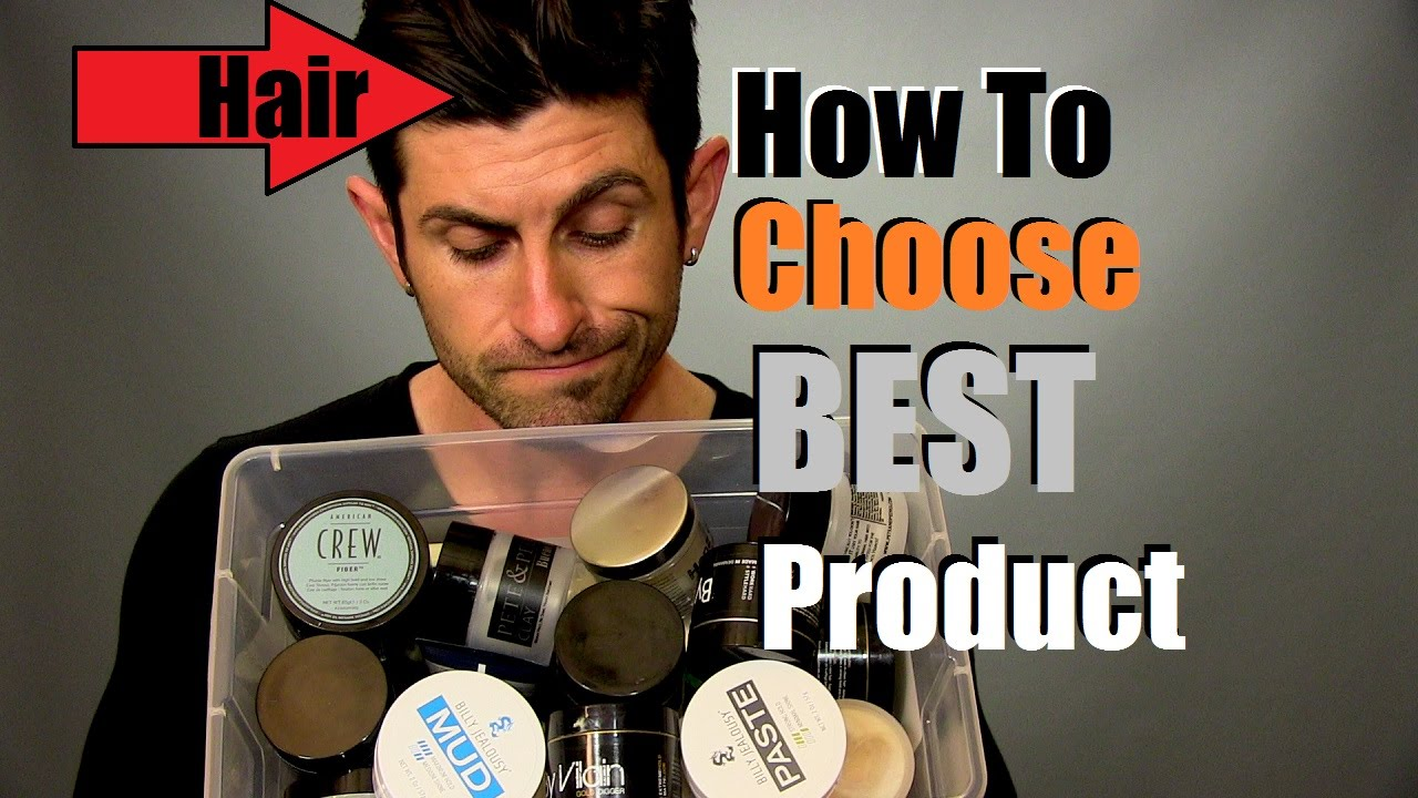 How To Choose The Best Hair Product For Your Hairstyle Hair Product Selection Tips Youtube