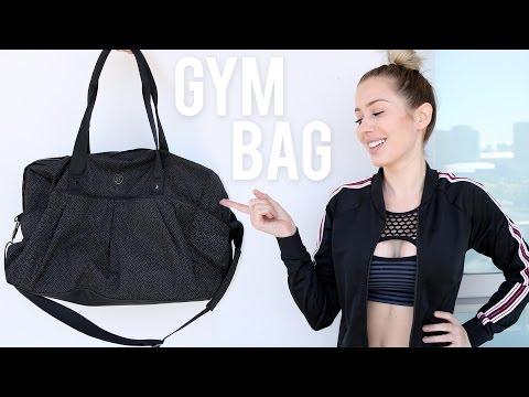 What's in my Gym Bag?   | Karissa Pukas