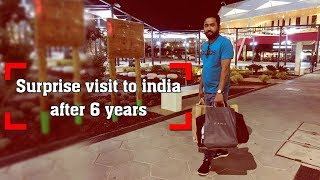 Surprise visit to india after 6 years   NISHAN BAL