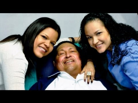 First photos of Chavez since December operation