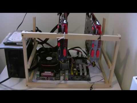 El Cheapo Ethereum Rig Details - R7 370 Power Usage Drivers Clock Speeds Etc