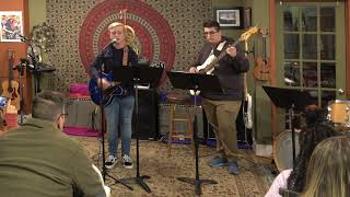 Robert and Ryan Performing Drops Of Jupiter Main Street Music and Art Studio