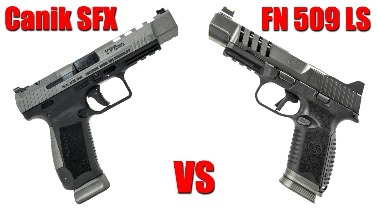 Canik TP9 SFX Elite Vs FN 509 LS Edge: Do You Really Get What You Pay For?