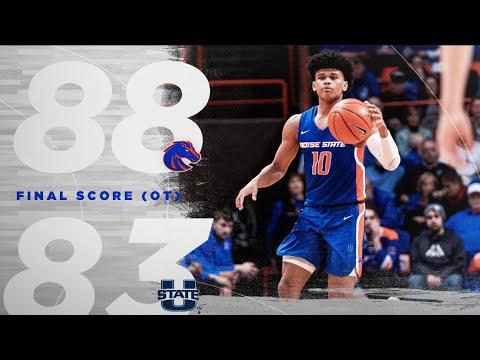Boise State Vs Utah State 2020 Basketball Highlights | COMEBACK OF THE YEAR |