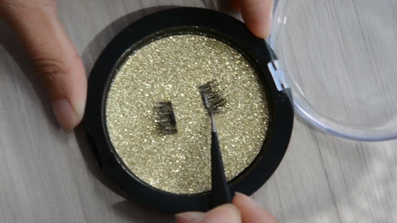 China Factory Wholesale Magnetic Fake Eyelashes In Stock Now Youtube