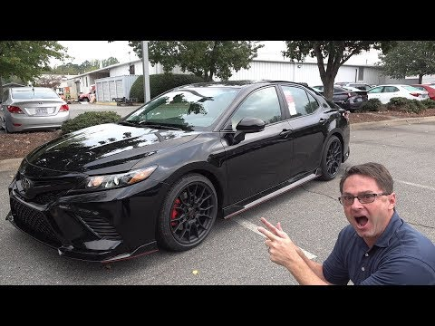 2020 Toyota Camry TRD! You Won't Believe it!