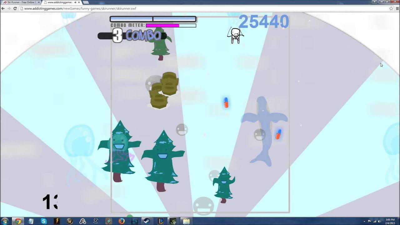 I am a beast addictinggames ski runner youtube addictinggames ski runner gumiabroncs Choice Image