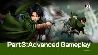 Attack on Titan - Advanced Gameplay Trailer