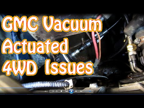 DIY How to Replace 4WD Vacuum Actuator Switch on a Blazer S10 Jimmy How to Troubleshoot 4WD Issues
