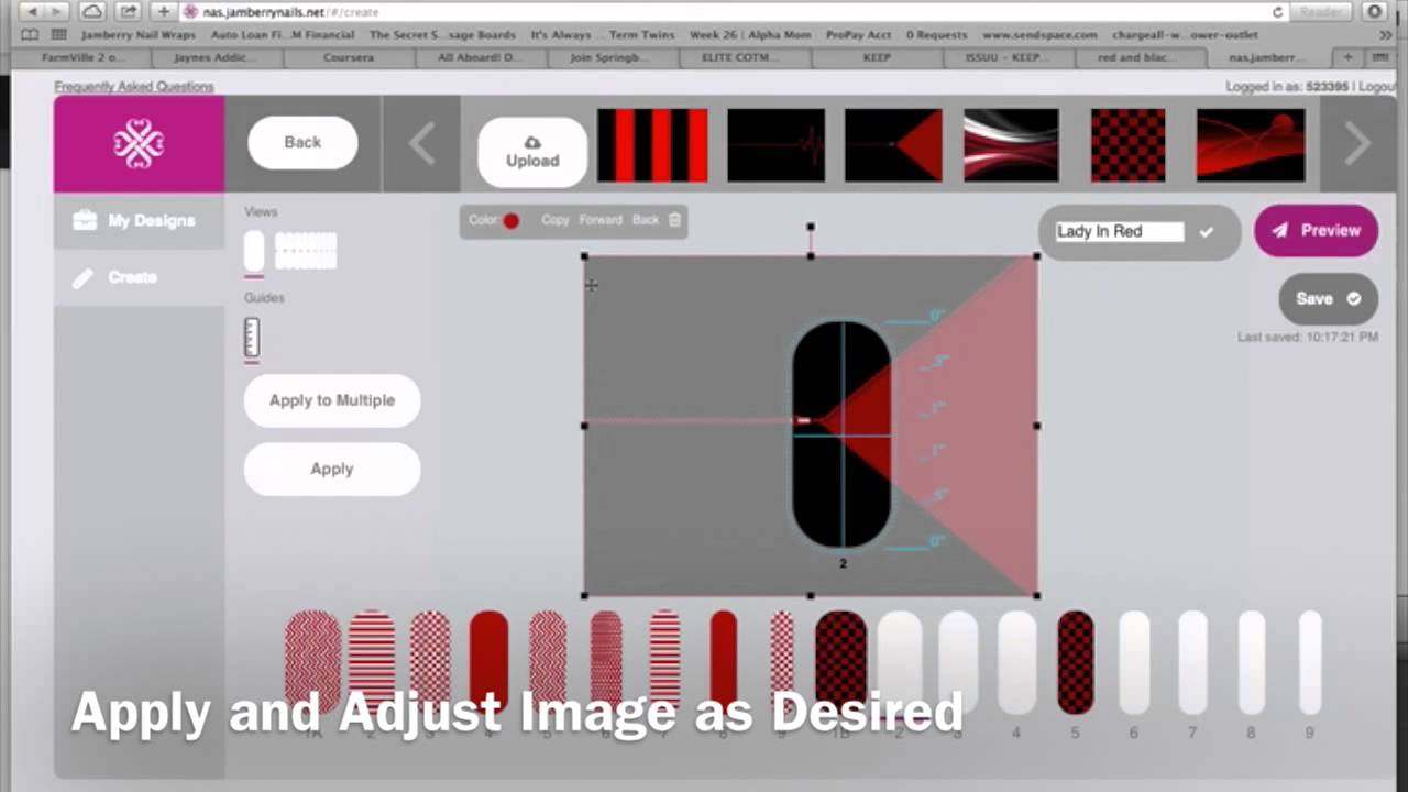 Nail Art Studio (NAS) Tutorial - YouTube