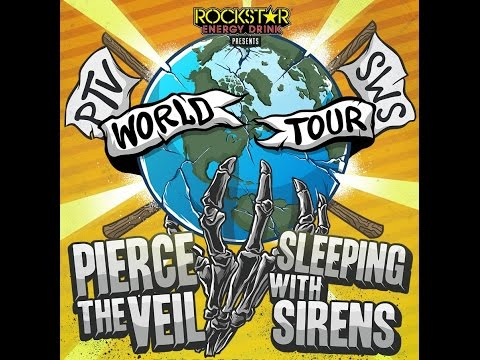 Pierce The Veil & Sleeping With Sirens World Tour 2015  All Songs!