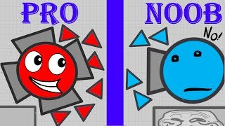 Diep.io NOOB vS PRO NEW TOP INSANE FUNNIEST HIGHLIGHTS !! Diep.io FUN FT Wormate.io
