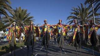 Карнавалом по коронавирусу: в Ницце не обращают внимание на эпидемию…