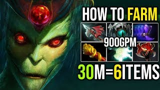 What Happen When [Medusa] FREE FARM (900+GPM 30Min=6Slots With RAMPAGE) 7.18 | Dota 2 FullGame