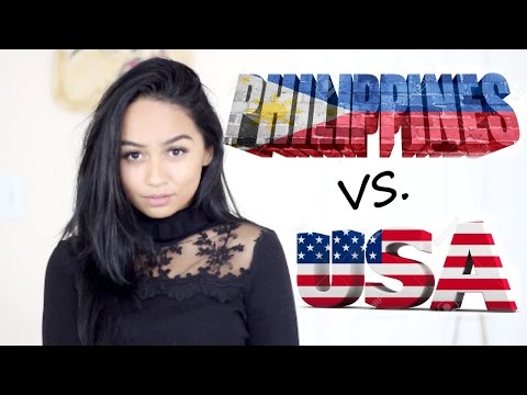 FILIPINO VS AMERICAN Beauty Standards