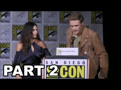 Outlander Panel Comic Con 2017 Part 2 - Truth or Dance & Fan Questions
