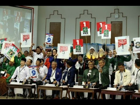 (FULL) KPU Undi Nomor Urut Parpol Peserta Pemilu 2019 – BREAKINGNEWS