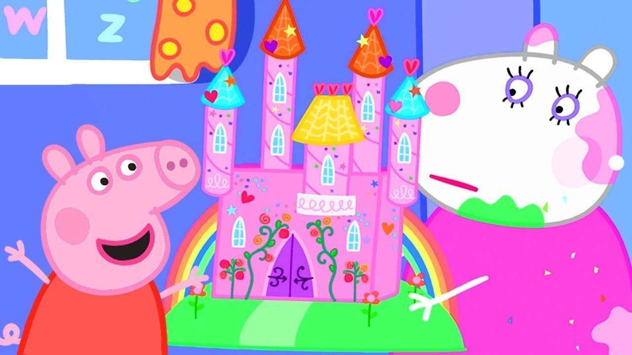 Download Peppa bastelt ein Schloss 🏰 Cartoons für Kinder   Peppa Wutz Neue Folgen