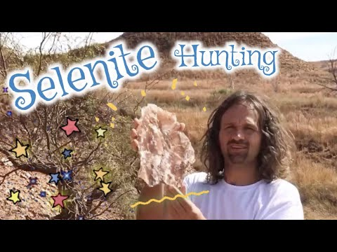 Hunting Selenite Crystals In Oklahoma *Raw Mining Footage*