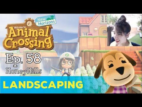 Honey Hills: HOME LANDSCAPING | Animal Crossing New ...
