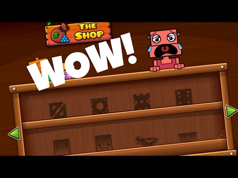 Buying Everything in Geometry Dash Shops