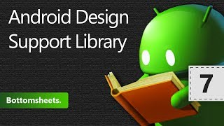Android Design Support Library. Bottomsheets. Урок 7