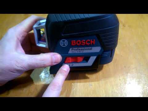 Видео обзор: Нивелир лазерный BOSCH GLL 3-80 C + BT 150