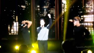 [FanCam] 01.11.14 : Race Start 2 Malaysia. Song Ji Hyo ft Kim Jong Kook & Haha - Turn off the TV