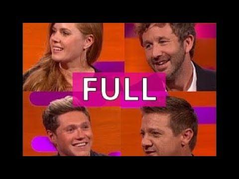 The Graham Norton Show S20E03 (FULL): Amy Adams, Jeremy Renner, Chris O'Dowd, Niall Horan