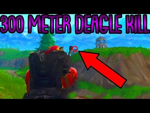 300 METER 1 SCHUSS mit DEAGLE! | Top 10 Fortnite Clips