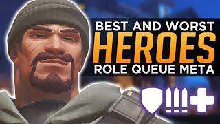 Overwatch: BEST and WORST Heroes - Role Queue Meta!