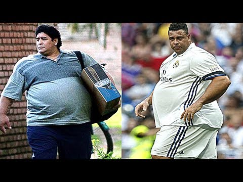 Best Football Players - Then and Now -  Ronaldo, Maradona, Messi, Pelé,...etc