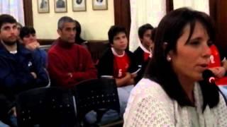 Marianela López- Homenaje a Nicolás Elena (Post Mortom)-Concejo Deliberante Nueve de Julio