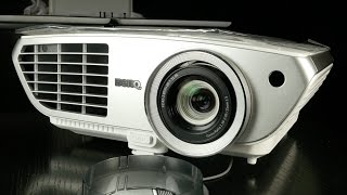 Unboxing the BenQ W1350 DLP Projector