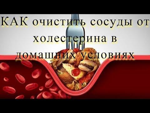 Лучший рецепт для очистки СОСУДОВ от ХОЛЕСТЕРИНОВЫХ БЛЯШЕК #DomSovetov